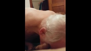 Grandpa Sucking my Teen Cock – Kyle Douglas