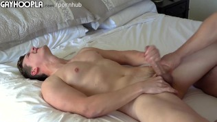 Str8 jerking each other right before anal fuck! hot jocks